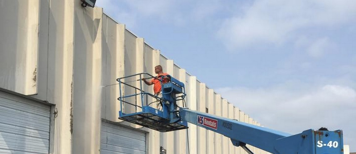 Commercial industrial pressure washing grand rapids chem brite